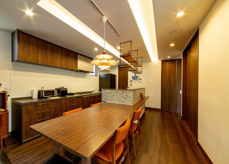 北九州デザインキッチンダイニング新築住宅オーガニックハウス