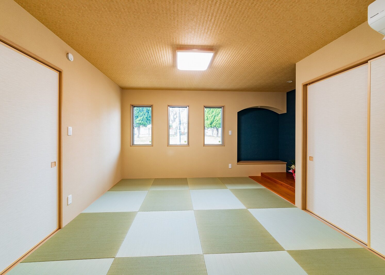 北九州デザイン和室新築住宅オーガニックハウス