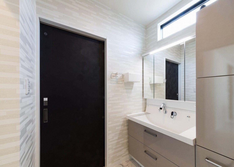 北九州デザイン新築住宅洗面室オーガニックハウス